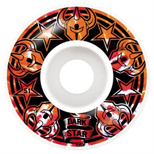 Darkstar 51 mm Civil Orange Tekerlek Seti