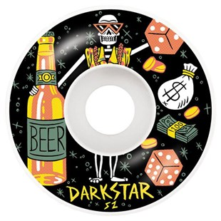 Darkstar 52 mm Vices Black Tekerlek Seti
