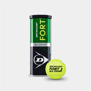 Dunlop Fort All Court 3lü Tenis Topu