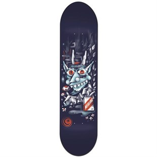 Foundation 8,0 Merlino Wood Wraith Deck Kaykay Tahtası
