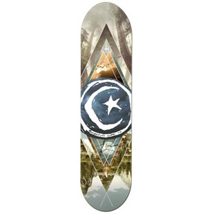 Foundation 8,125 Star Moon Geometry Deck Kaykay Tahtası