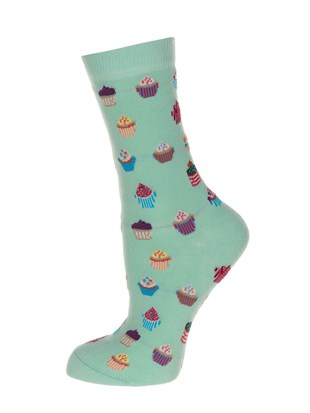 JOHN FRANK WOMEN FUN SOCKS UZUN ÇORAP