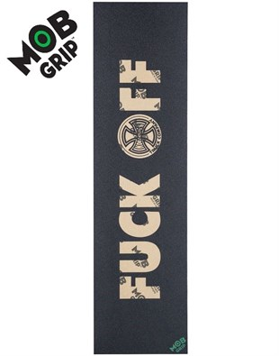 Mob Grip Tape İndependent Fuck Off Şeffaf Kaykay Zımparası