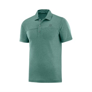 Salomon Explore Polo Erkek Outdoor T-shirt