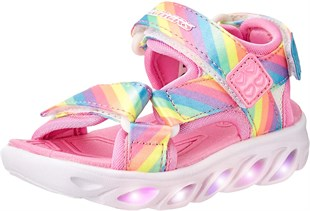 Skechers Hypno Splash Rainbow Lights Çocuk Sandalet
