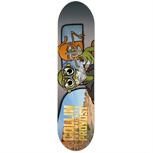 Toy Machine 8,0 Provost War Turtle Deck Kaykay Tahtası