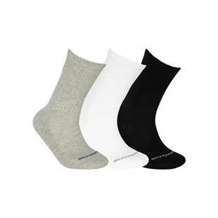 U SKX Padded Crew Cut Socks 3 Pack