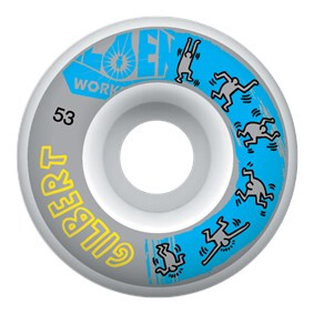 Alien Workshop Crockett Haring Tekerlek Seti 53 mm