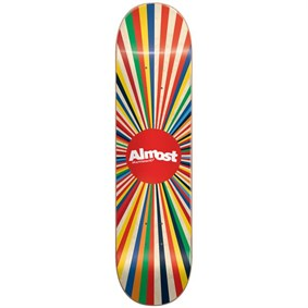 Almost 7,5 Color Wheel Natural Deck Kaykay Tahtası