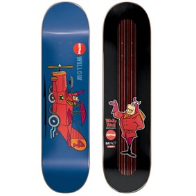 Almost 8,0 Wacky Races Impact Light Willow Deck Kaykay Tahtası