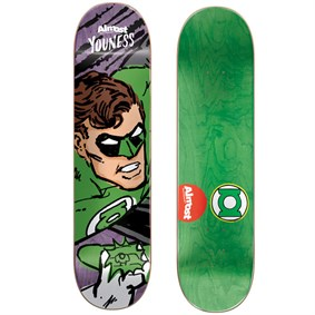 Almost 8,125 Sketchy Green Lantern R7 Youness Deck Kaykay Tahtası