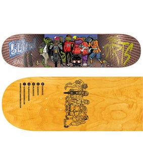 Blind 8,25 Dirts Crew SS Brick Red Deck Kaykay Tahtası