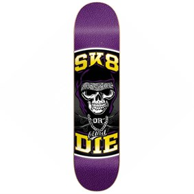 Blind 8,25 Sk8 or Die SS Purple Yellow Deck