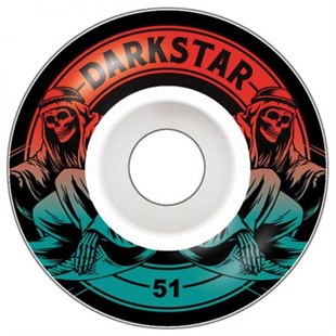 Darkstar 51 mm Magic Red Fade Tekerlek Seti