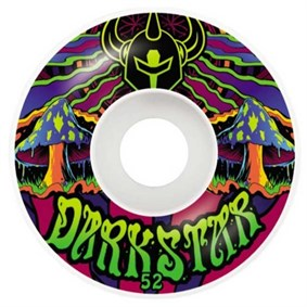 Darkstar 52 mm Trippy Green Tekerlek Seti