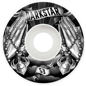 Darkstar 53 mm Salvation Black White Tekerlek Seti
