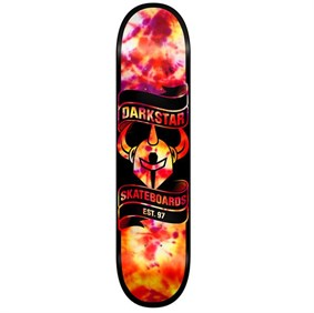Darkstar 7,75 Scroll SL TieDye Orange Deck Kaykay Tahtası
