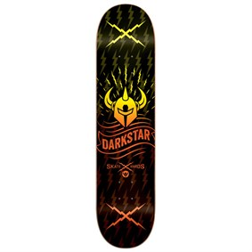 Darkstar Axis RHM Orange Fade Deck Kaykay Tahtası 8.375