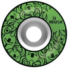 Darkstar Collective Price Knight Green Tekerlek Seti 51 mm