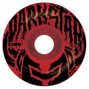 Darkstar  Stack Price Knight Red Black Tekerlek Seti 53 mm
