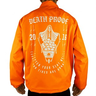 Death Proof Coach Jacket Orange