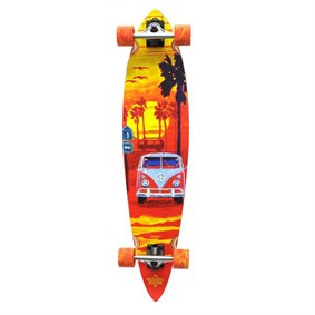 Dusters Highway One Longboard Orange 39 Longboard