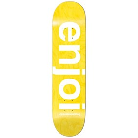 Enjoi 8,0 Sprayed Spectrum Yellow Deck Kaykay Tahtası