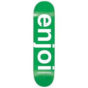 Enjoi 8,25 Sprayed Spectrum Green Deck Kaykay Tahtası