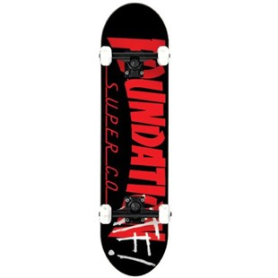Foundation 8.0 Thrasher Black Komple Kaykay