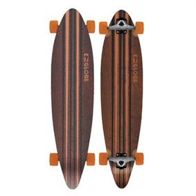 GLOBE PINNER LONGBOARD 41,25 BLACK ORANGE