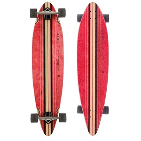 GLOBE PINNER LONGBOARD 41,25 RED BLACK
