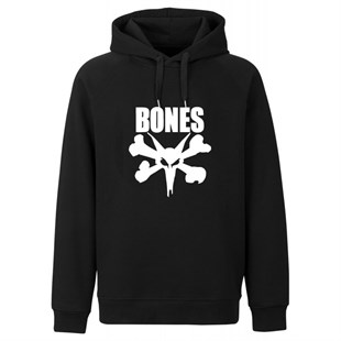 HORN SKATEBOARDS BONES SWEATSHIRT BLACK