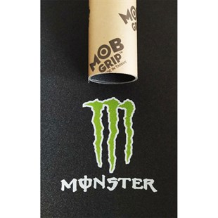 MOB GRİP MONSTER ENERGY DESENLİ KAYKAY ZIMPARASI
