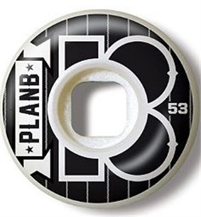 Plan B Team Pinstripe Tekerlek Seti 53 mm